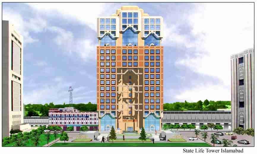 STATE LIFE TOWER ISLAMABAD – Naeem Pasha